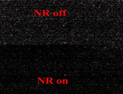 Uzun Pozlama Kumlanma Azaltma(Long exposure NR)