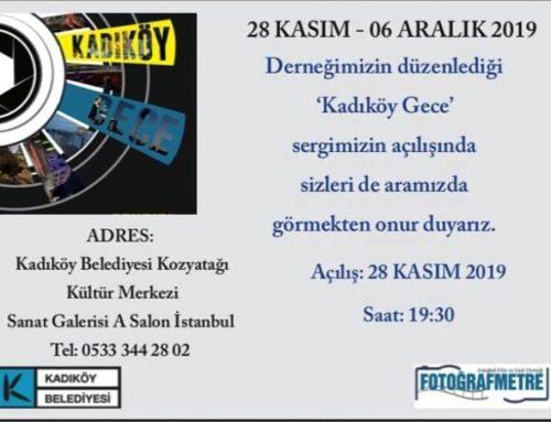 Kadıköy Gece Fotoğraf Sergisi
